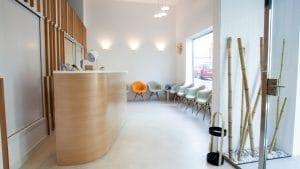Clínica Dermatológica Sala de Espera